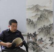 刘金河老师在99字画网(2)